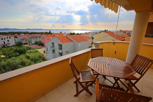 Villa Zubcic Zadar - SUPERIOR TWO-BEDROOM APARTMENT WITH THE SEA - ISLAND VIEW